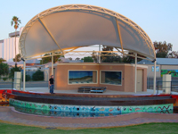 Kadjininy Kep Hydrology Model and Outdoor Amphitheatre